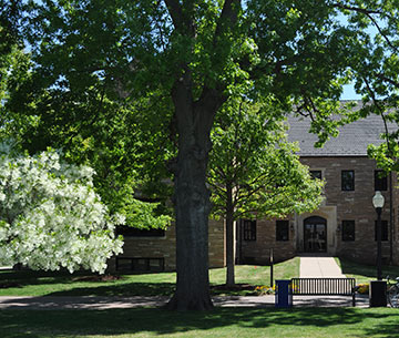 Lorton Hall viewed from Dietler Commons