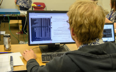 Students work in many different areas of computer science including bioinformatics.